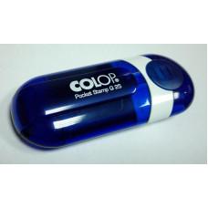 Colop Pocket Stamp Q25 Карманная оснастка для штампа 25х25мм индиго