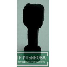 печать черный пластик d10мм