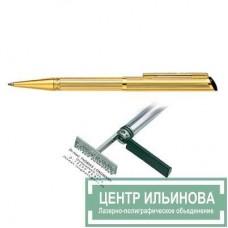 HERI 3003 DIAGONAL ручка-штамп «позолоченная» 33х8мм 3 строчки
