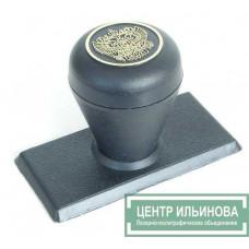штамп-ручка Капля 35х70