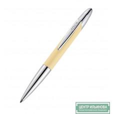 Stamp Writer exclusive Ручка со штампом 8х33мм металлическая слоновая кость/хром