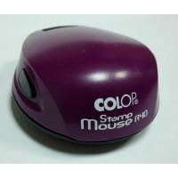 Colop Stamp Mouse R40 Оснастка для печати диам. 40мм фиолетовая (violet)