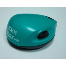 Colop Stamp Mouse R40 Оснастка для печати диам. 40мм бирюзовая (green/blue)