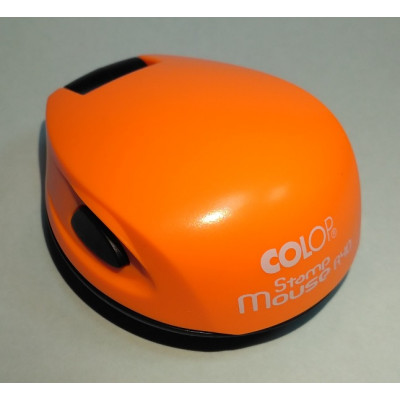 Colop Stamp Mouse R40 Оснастка для печати диам. 40мм неон оранжевый (neon orange)