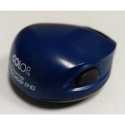 Colop Stamp Mouse R40 Оснастка для печати диам. 40мм кобальт (cobalt)