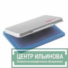 Micro М2 Настольная штемп. подушка в металл.корпусе 70х110мм синяя
