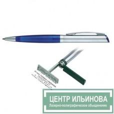 HERI 6031 DIAGONAL ручка-штамп синяя 33х8мм 3 строчки