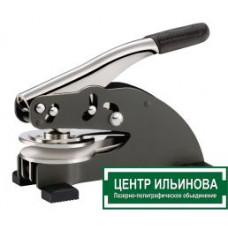 EH Оснастка для рельефной печати повышенной прочности 105х20х50 мм с держателем d50 мм, в футляре
