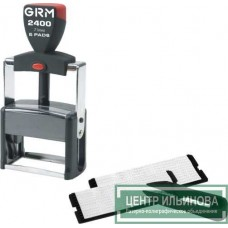 штамп самонаборный GRM 2400 Set 6 строк