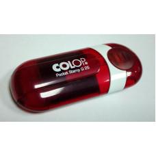 Colop Pocket Stamp Q25 Карманная оснастка для штампа 25х25мм рубин