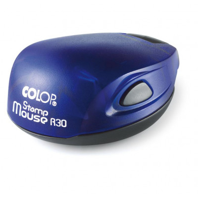 Colop Stamp Mouse R30 Оснастка для печати диам. 30мм индиго