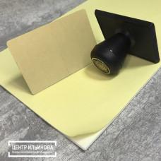Демпфер (амортизационный слой) лист 210х297мм, толщина 2мм белый (Россия)