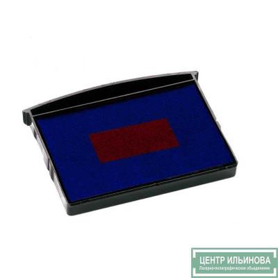 Colop E/2600/2 Сменная подушка сине-красная