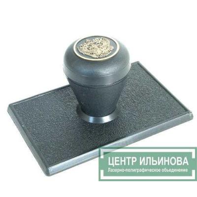 штамп-ручка Капля 80х50