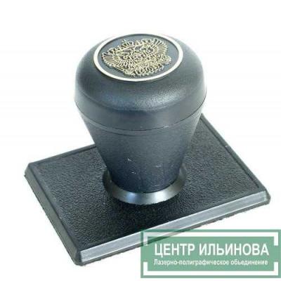 штамп-ручка Капля 50х40