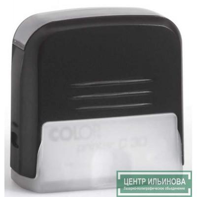 Colop Printer30 Compact cover Оснастка для штампа 47х18мм с крышкой черная