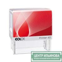 Colop Printer40 Set-F Самонаборный штамп с 2-мя кассами. 6 строк без рамки, 4 строки с рамкой new