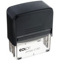 Colop Printer60 Оснастка для штампа 76х37мм черный