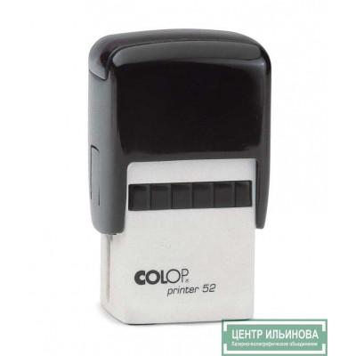 Colop Printer52 Оснастка для штампа 30х20мм черный