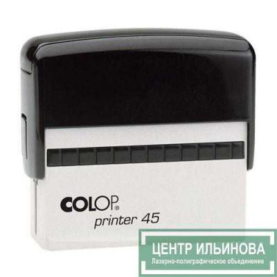 Colop Printer45 Оснастка для штампа 82х25мм черный
