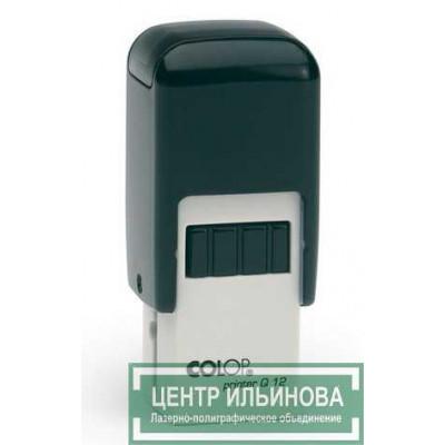Colop Printer Q12 Оснастка для штампа 12х12мм черная