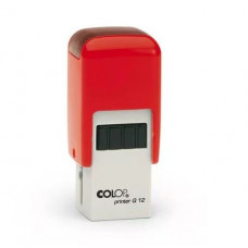 Colop Printer Q12 Оснастка для штампа 12х12мм красный