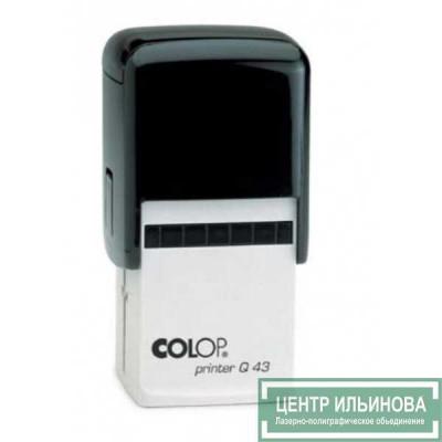 Colop Printer Q43 Оснастка для штампа 43х43мм черный