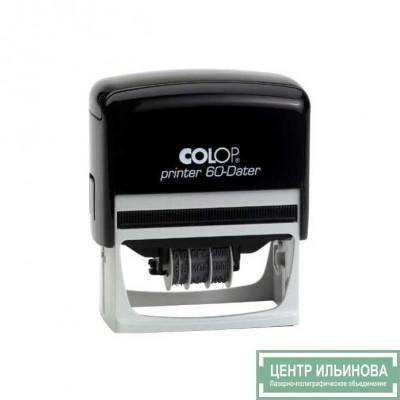 Colop Printer60-Dater Датер со свободным полем 37х76мм дата буквами