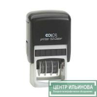 Colop Printer52-Dater Датер со свободным полем 30х20мм черный банк месяц цифрами