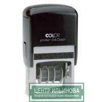 Colop Printer54-Dater Датер со свободным полем 50х40мм банк месяц цифрами