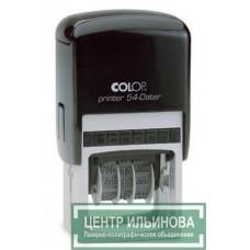Colop Printer54-Dater Датер со свободным полем 50х40мм дата буквами