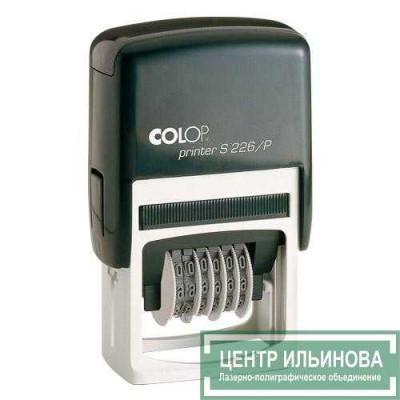 Colop S226/Р Нумератор 4мм 6-разр., со свободным полем 45х24мм