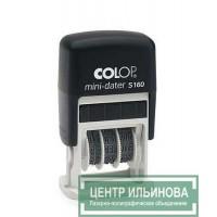 Colop S160 Мини-датер 3,8мм со своб. полем 25х5мм дата буквами (Trodat 4850)