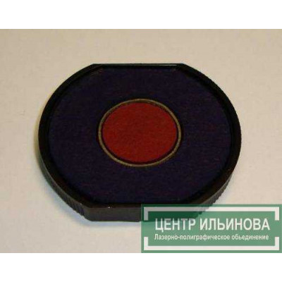 Штемпельная подушка Colop E/R40/2 внутренний d16мм сине-красная