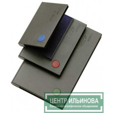 Micro 3 Настольная штемпельная подушка 90х160мм синяя