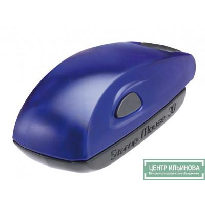 Colop Stamp Mouse 20 Оснастка для штампа 38х14мм c синей подушкой индиго