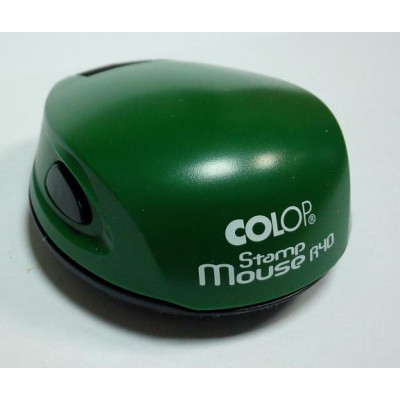 Colop Stamp Mouse R40 Оснастка мышка для печати диам. 40мм паприка (paprika)