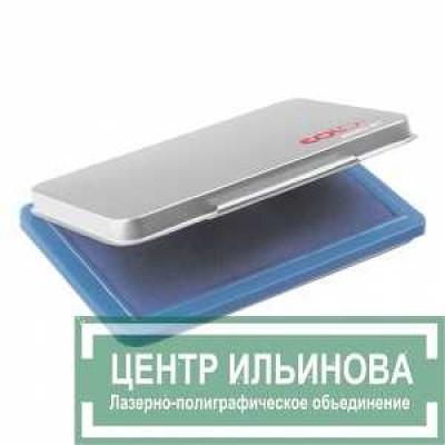 Micro М1 Настольная штемп. подушка в металл.корпусе 50х90мм синяя