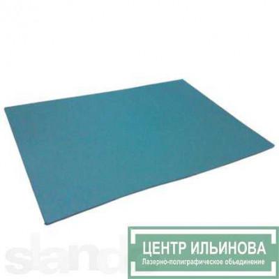 Colop Резина для лазерной гравировки А4, толщ.2,3мм, твердость по Шору 60 (голубая)