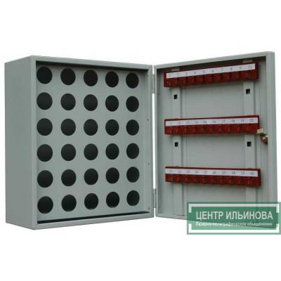 Шкаф - ключница на 30 ключей и 30 пеналов 400х350х180мм