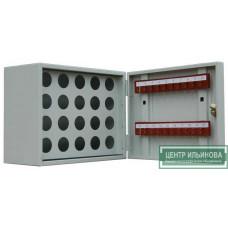Шкаф - ключница на 20 ключей и 20 пеналов 270х350х180мм