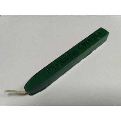Сургуч с фитилем зеленый (свеча)