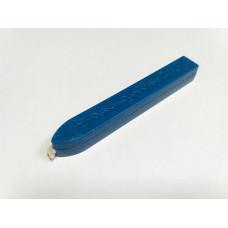 Сургуч с фитилем синий (свеча)