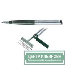 HERI 6011 DIAGONAL ручка-штамп черная 33х8мм 3 строчки