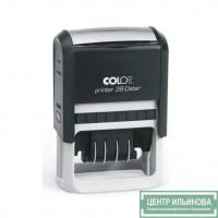 Colop Printer38-Dater Датер со свободным полем 56х33мм банк месяц цифрами