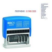 Colop S120/WD Мини-датер с 12 бух. терминами 3,8мм