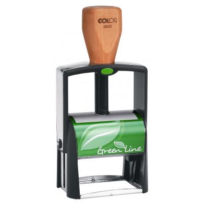 Colop S2600 Green Line Металлическая оснастка для штампа 58х37мм Green Line