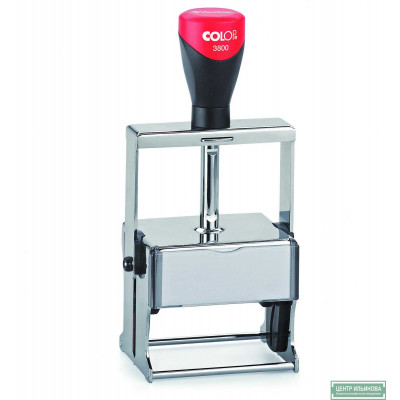 Colop 3800 Металлическая оснастка для штампа 68х49мм