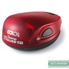 Colop Stamp Mouse R30 Оснастка для печати диам. 30мм рубин