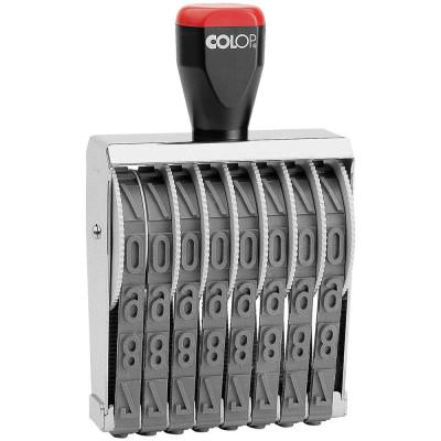 Colop 15008 Нумератор 8-разрядов, высота шрифта 15мм